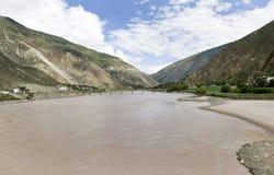 River Jingsha  in China 2 Royalty Free Stock Photography