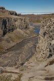River Jokulsa a Fjollum canyon - Iceland. Royalty Free Stock Image