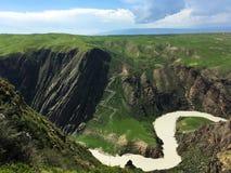 River in Kalajun Grassland Xinjiang China Stock Images