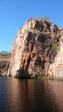 River Katherine Gorge. In Australia Royalty Free Stock Image