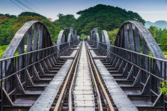 River Kawai Bridge Royalty Free Stock Photo