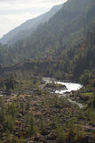 River in Khumbu valley Royalty Free Stock Image