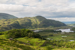 River at Killarney National Park valley in ireland Stock Images