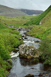 River Kilmaluag valley Skye Scotland Stock Image