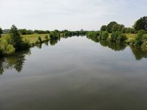 River Kinzig stock photography