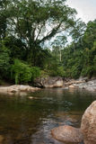 River kiriwong village Royalty Free Stock Image