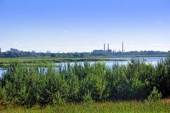 River Kishezers. Latvia stock photos