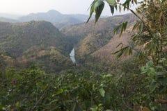 River Kok in Thaton Royalty Free Stock Photo