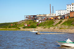 River Kolyma Stock Photo