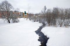 River Konchury. Sergiev Posad Royalty Free Stock Photo