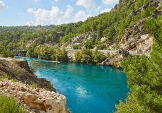 River in the Koprulu Canyon Stock Images