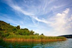 River Krka Royalty Free Stock Images