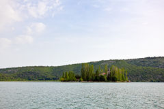 River Krka royalty free stock photo
