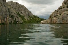The river Krka Stock Image