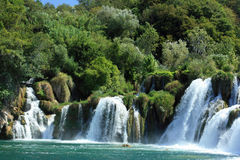 The river Krka Royalty Free Stock Images