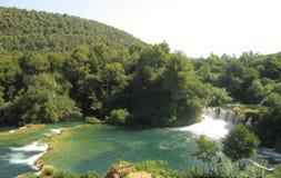 River  Krka in Croatia Royalty Free Stock Image