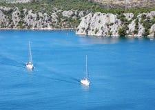 River Krka, Croatia. stock image