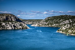 River Krka Estuary Royalty Free Stock Image