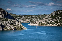 River Krka Estuary Stock Photography