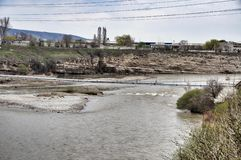 River Kuban Stock Photography