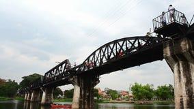 River Kwai Bridge stock video