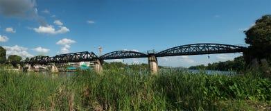 River Kwai Bridge, Thailand Travel Royalty Free Stock Photo