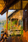 River Kwai. Holidays on the river Kwai, around the jungle Stock Image