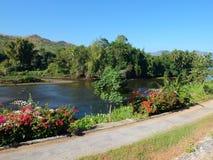 River Kwai, Kanchanaburi, Thailand. Stock Images