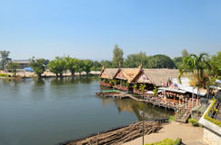 River Kwai in Thailand Stock Photography