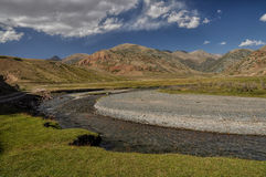 River in Kyrgyzstan Royalty Free Stock Photography