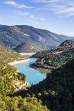 River Ladonas Dam Royalty Free Stock Image