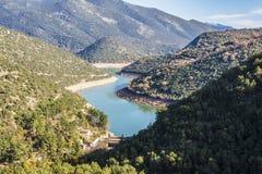 River Ladonas Dam Royalty Free Stock Photos