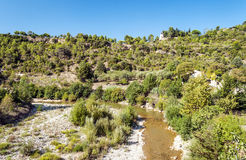 River of Lagrasse Royalty Free Stock Photos