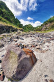 River with Lahar Royalty Free Stock Images
