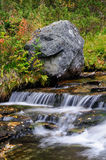 River landscape in autumn, flatruet, sweden Stock Images
