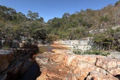 River landscape of Caatinga in Brazil stock photo