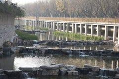 A river landscape Stock Image