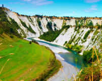 River Landscape in New Zealand Royalty Free Stock Image