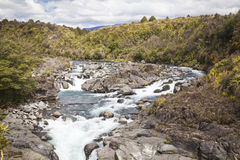 River landscape in New Zealand Royalty Free Stock Photography