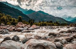 River Landscape Photo royalty free stock photo