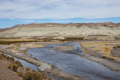 River Lauca Royalty Free Stock Images