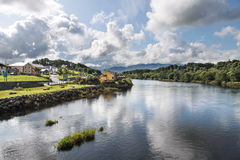 River Laune in Killorglin Royalty Free Stock Image