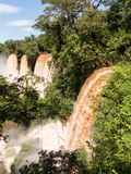 River leading to Iguassu Falls Stock Photos