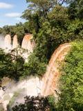 River leading to Iguassu Falls Stock Photos