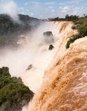 River leading to Iguassu Falls Royalty Free Stock Photography