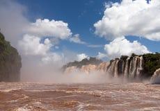 River leading to Iguassu Falls Stock Image