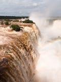 River leading to Iguassu Falls Royalty Free Stock Images