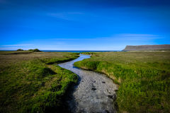 River leading to se Stock Images