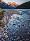 River Leading to Waterton Lake Royalty Free Stock Photo