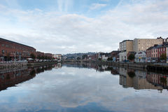 River Lee in Cork Stock Photos